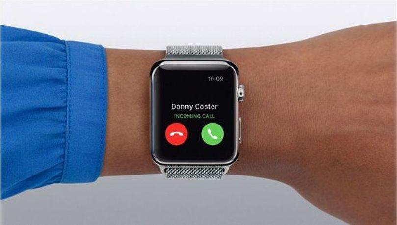 ساعت اپل:چگونه تماس بگیریم و یا به تماس های خود پاسخ دهیم.