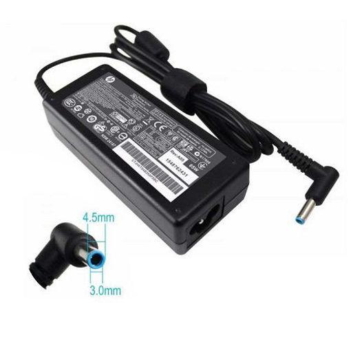 خرید شارژر لپ تاپ اچ پی HP 19.5V 3.3A سر فیش آبی