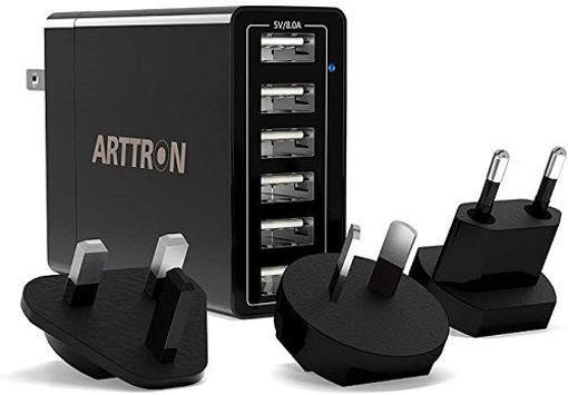 خرید آداپتور شارژر آیپد و آیفون 6Port USB Charging